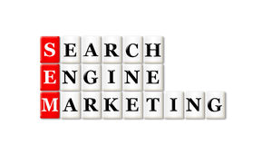 Маркетинг двигателя Searh Стоковые Изображения RF