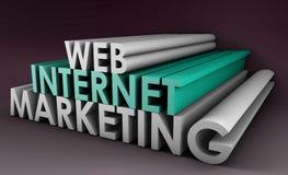 маркетинг интернета Стоковые Фото