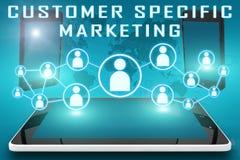 Маркетинг клиента специфический иллюстрация вектора