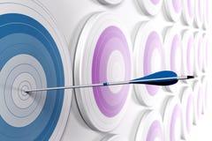 маркетинг принципиальной схемы стратегический Стоковое Фото