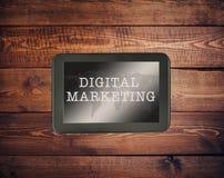 Маркетинг цифров Стоковые Фото