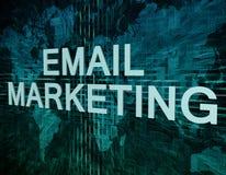 Маркетинг электронной почты иллюстрация штока