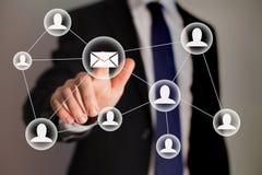 Маркетинг электронной почты Стоковая Фотография RF