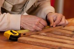 Маркировать древесину Стоковое Изображение RF