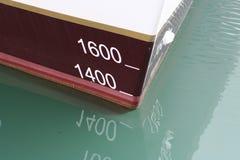 маркировки старта глубины смычка Стоковая Фотография RF