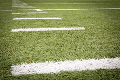 Маркировки футбольного поля Стоковые Изображения