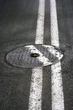 маркирует дорогу Стоковая Фотография
