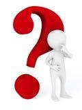 маркируйте вопрос Стоковые Фотографии RF