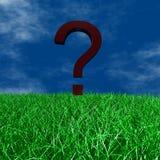 маркируйте вопрос Стоковое Изображение RF