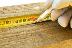 маркируйте измерение Стоковое фото RF