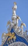 маркируйте статую venice святой стоковая фотография
