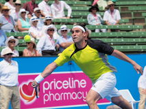 Маркос Bahdatis Кипра бежит для шарика Стоковые Изображения RF