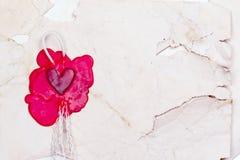 Марк в форме сердца стоковые изображения
