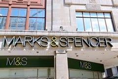 МАРК & SPENSER Стоковые Изображения