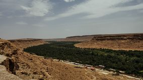 Марокканськая долина Draa стоковое изображение