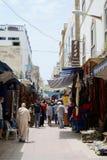Марокканськая сцена улицы Стоковое фото RF