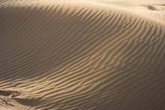 Марокканськие песчанные дюны Essaouira Стоковые Изображения