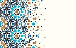 Марокканський шаблон развала иллюстрация штока