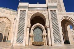 Марокко мечеть hassan ii детали casablanca Стоковое фото RF