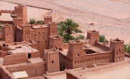 Марокко Haddou Kasbah ait ben Стоковые Изображения