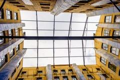 Марсели окно в крыше деревни доков стоковые изображения