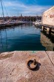 Марсель Франция порта Vieux (старого порта) Стоковые Фото