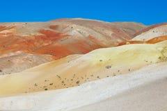 Марсианский ландшафт Стоковые Фото