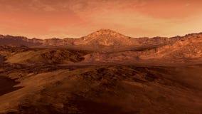 Марс любит красная планета иллюстрация штока