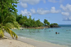 Мартиника, живописный город Riviere Pilote в Вест-Индиях Стоковые Изображения RF