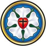 Мартин Luther Роза иллюстрация штока