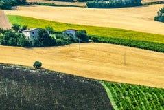 Марты (Италия), ландшафт Стоковые Изображения