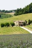 Марты (Италия): ландшафт лета Стоковые Изображения RF