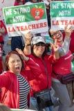 Март для образования Лос-Анджелеса стоковая фотография rf