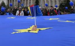 МАРТ НА ЕВРОПА 2017 Стоковые Фото