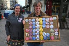 Март на наш протест 25 жизней, Вашингтон, d C Стоковое Фото