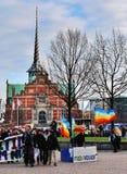 Маршировать Копенгагена демонстрирует Стоковые Фотографии RF