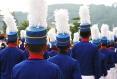 маршировать полосы Стоковая Фотография RF