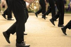 маршировать полосы Стоковые Фото