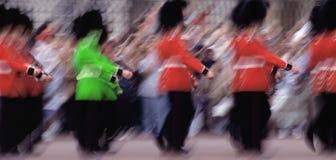 маршировать предохранителей королевский Стоковые Фотографии RF