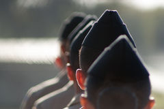 Маршируя войска Стоковые Фотографии RF