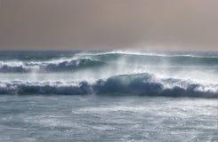 маршируя волны Стоковое Изображение