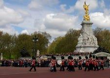Маршируя предохранители британцев стоковая фотография