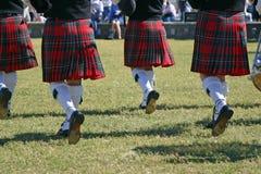 маршируя scotish стоковые фотографии rf