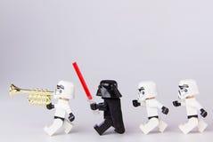 Марш Звездных войн Lego Стоковые Фотографии RF