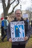Марш Коннектикут женщин hartford -го стоковое изображение rf