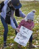 Марш Коннектикут женщин hartford -го Стоковое Изображение