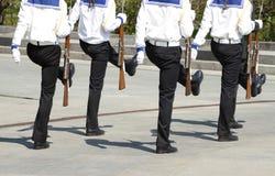Марш моряков Стоковые Фотографии RF
