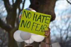 Марш протеста Стоковые Фото