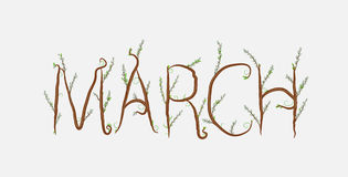 марш Стоковая Фотография