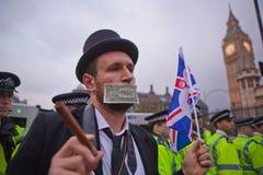 марш london обменом занимает шток стоковое изображение rf